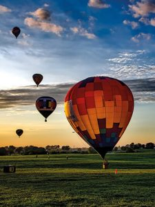 Internationales Ballonfestival