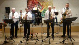Konzert mit der SWANO Saxophon Powerband